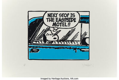 Mark Drew, 'Eastside Motel (Regulate) (Blue)', 2017