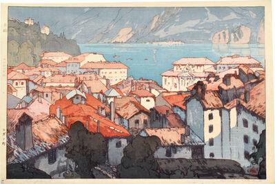 Yoshida Hiroshi, 'Europe Series: The Town of Lugano', 1925