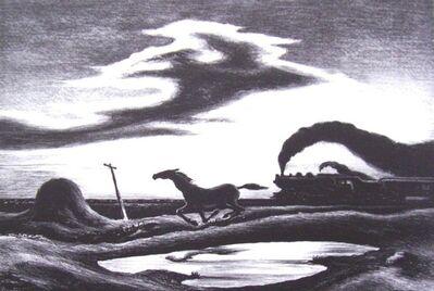 Thomas Hart Benton, 'The Race or Homeward Bound', 1942