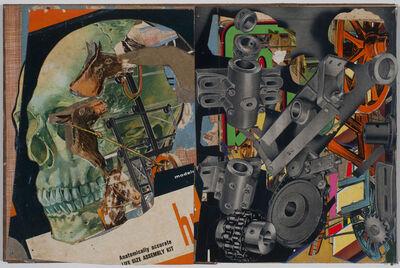 Lance Letscher, 'Human Skull', 2015