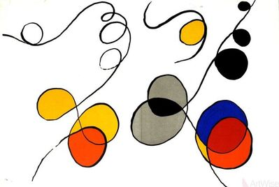 Alexander Calder, 'Derriere le Miroir No. 173, pages 12-13', 1968