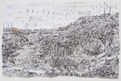 Courttney Cooper, 'Cincinnati Map II', 2015