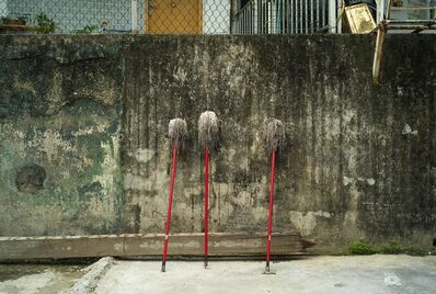Kheng-Li Wee, 'Three Mops', 2011