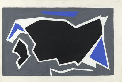 Ralston Crawford, 'Blue, Grey, Black', 1957