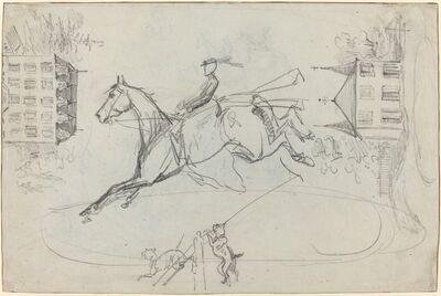 Henri de Toulouse-Lautrec, 'Sheet of Sketches', ca. 1881