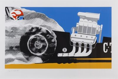 Gerald Laing, 'CT STROKERS (Ingram and Halliwell 19)', 1968