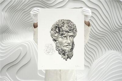 Daniel Arsham, 'Eroded Classical Prints (Portfolio of 3 Prints)', 2020