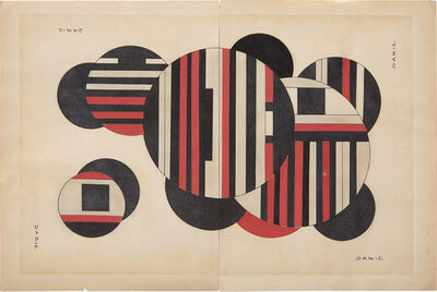 Sandu Darie, 'Untitled (Columna espacial)', ca. 1950