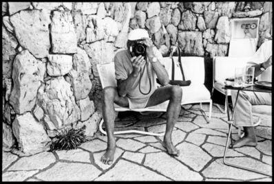 Jean Pigozzi, 'Helmut Newton, Villa Dorane', 1993