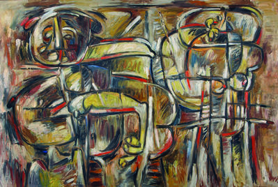 Oswaldo Vigas, 'Sayoneras II', 1992