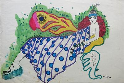 Ricardo Migliorisi, 'Mujer recostada', ca. 1970