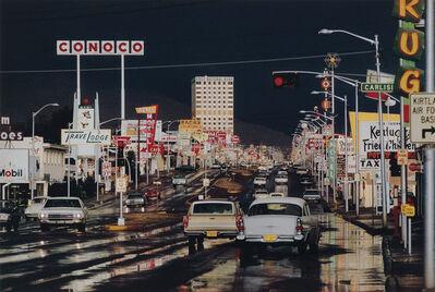 Ernst Haas, 'Route 66, Albuquerque, New Mexico', 2019