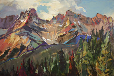 Brent Laycock, 'Cascade Mountain, East Cliffs', 2018