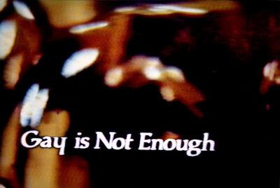 John Waters, 'Gay is Not Enough', 2006