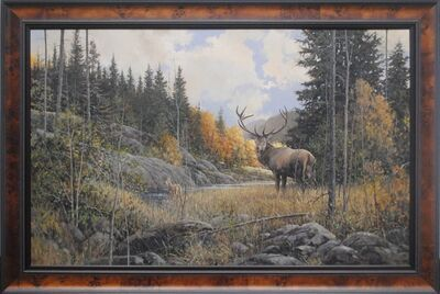 Douglas R. Laird, 'Autumn Elk', 2016