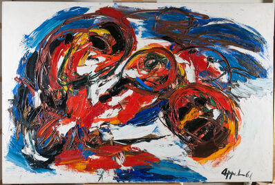 Karel Appel, 'Voyages tournoyants', 1961