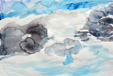 Cony Theis, 'Wolken 2', 2019