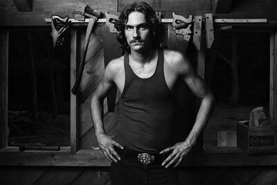 "Norman Seeff, 'James Taylor, ""James with Tools""', 1969"