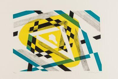 Stanley William Hayter, 'Triangle; Convex Mirror (Black and Moorhead 385; Black and Moorhead 412)', 1975 and 1980