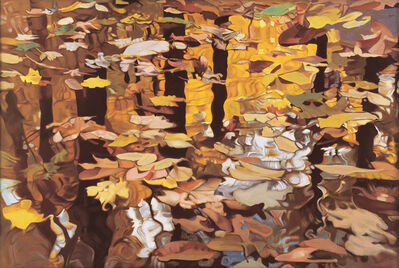Ralph Wickiser, 'Fall Reflection', 1980
