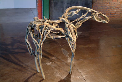 Deborah Butterfield, 'Bronze Horse', 2002