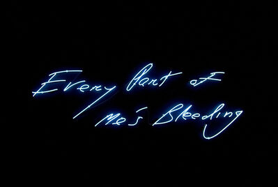 Tracey Emin, 'Every Part of Me's Bleeding', 1999