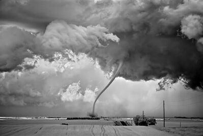 Mitch Dobrowner, 'Rope Out, Regan, North Dakota', 2011