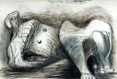 Henry Moore, 'Terracotta Reclining Figure', 1974-1976