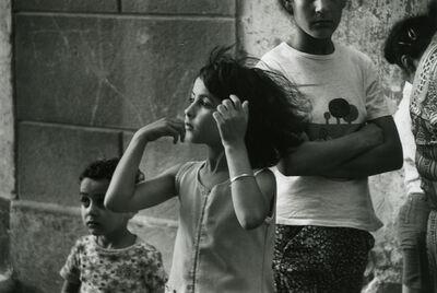 André Kertész, 'Gypsy Girl, Arles', 1979