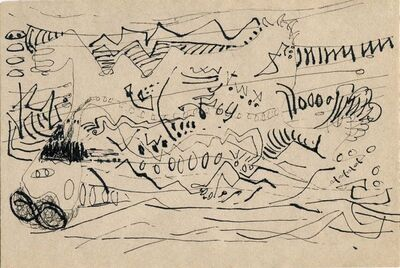 Jackson Pollock, 'Untitled', ca. 1945