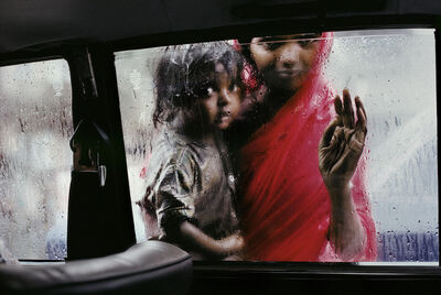Steve McCurry, 'Mother and Child at Car Window, Bombay, India', 1993