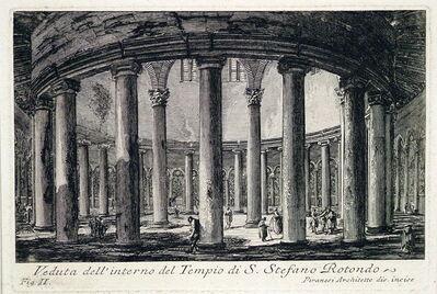 Giovanni Battista Piranesi, 'Interior view of the Church of San Stefano Rotondo', 1756