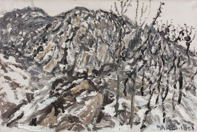 Ma Kelu, 'snow cover up cold mountain No.1', 2018