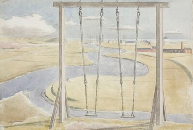 Paul Nash, 'River', 1932
