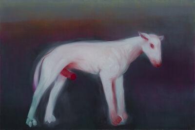 Miriam Cahn, 'scharfer hund', 2012