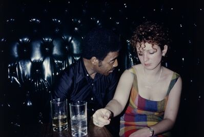 Nan Goldin, 'Buzz and Nan at the Afterhours, New York City', 1980