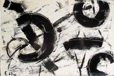 Elie Borgrave, 'Pôles dans le Temps', 1967