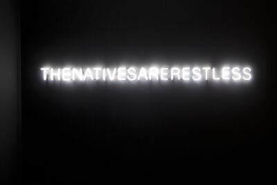 Newell Harry, 'The Natives Are Restless', 2012