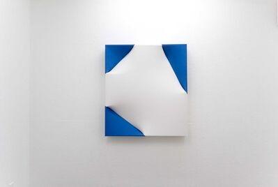 Nobuko Watanabe, 'White in the blue', 2010