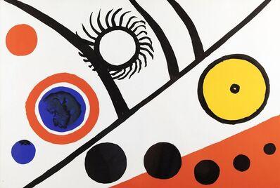 Alexander Calder, 'Rayons Noirs', 1976