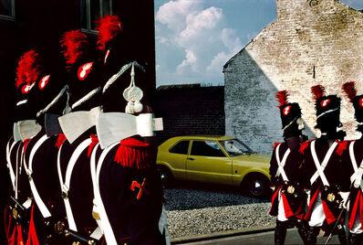 Harry Gruyaert, 'Commemoration of the Battle of Waterloo. Village in the Province of Brabant. BELGIUM. ', 1981
