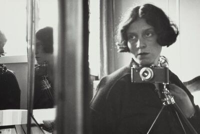 Ilse Bing, 'Self Portrait in Mirror', 1931