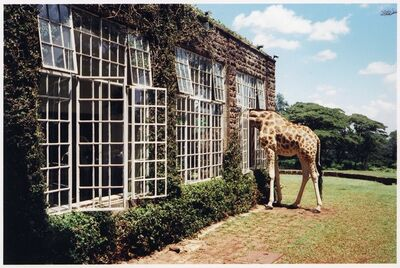 Arthur Elgort, 'Rubber Necking, Kenya, Vogue', 2007
