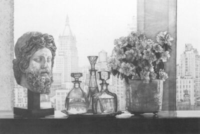 Claudio Bravo, 'New York City Still Life (Grey)', 1993