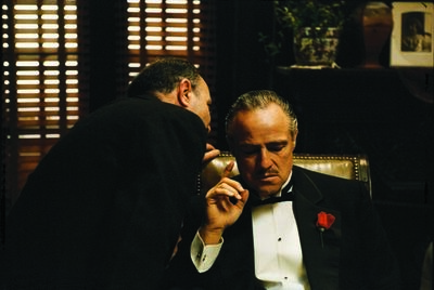 Steve Schapiro, 'The Whisper Marlon Brando in 'The Godfather', 1971', 1971