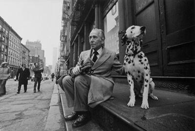Harry Benson, 'Leo Castelli, NYC', 1979