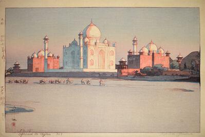 Yoshida Hiroshi, 'Approach to Agra  no 3', 1932
