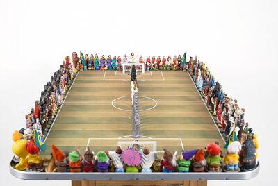 Nelson Leirner, 'Jogo de Futebol', 1999