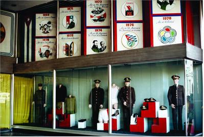 Martha Rosler, 'Uniform store, Havana, from the Cuba series', 1981