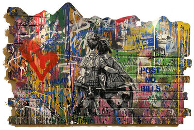 Mr. Brainwash, 'We Work Well Together', 2019